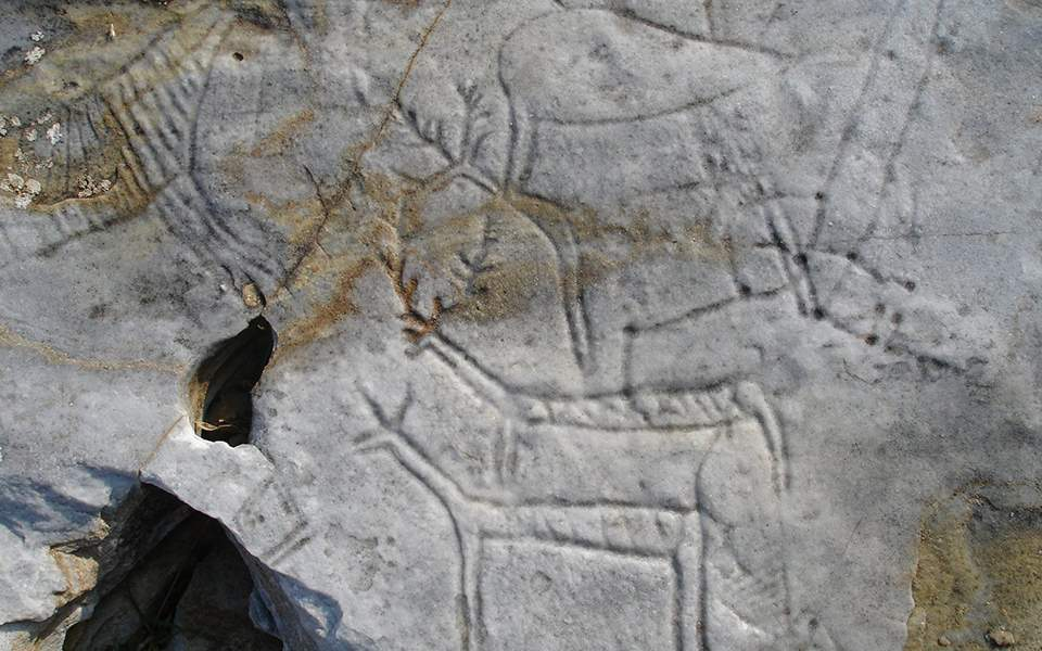rock-carving