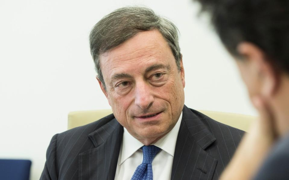 'The ECB has always acted on the assumption that the current members of the European Monetary Union will stay members, Greece being one of them,' Draghi says.
