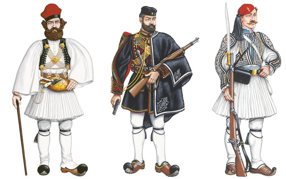 the foustanella from military uniform to symbol of a nation life