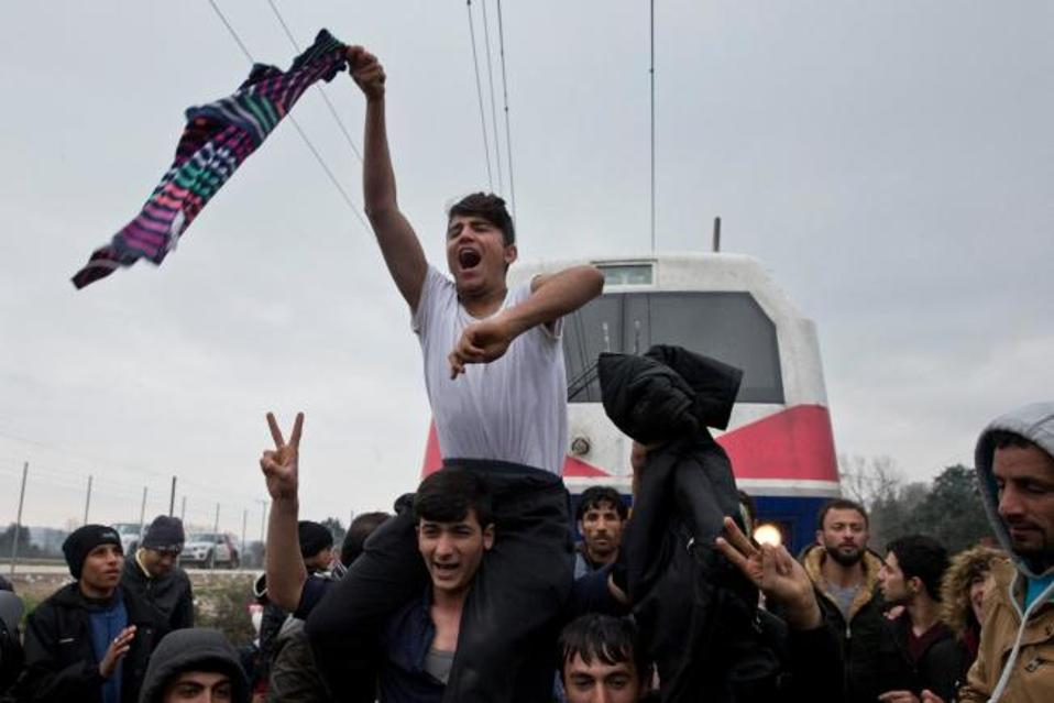 greek refugees in poland 03092015 thousands of migrants are flooding into europe from africa and the middle east many are seeking refuge from war-torn areas.