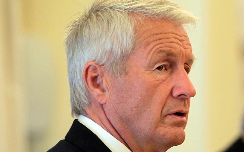 Thorbjorn Jagland, the secretary-general of the Council of Europe.