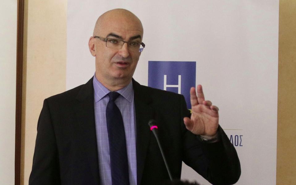 Hellenic Chamber of Hotels president Giorgos Tsakiris