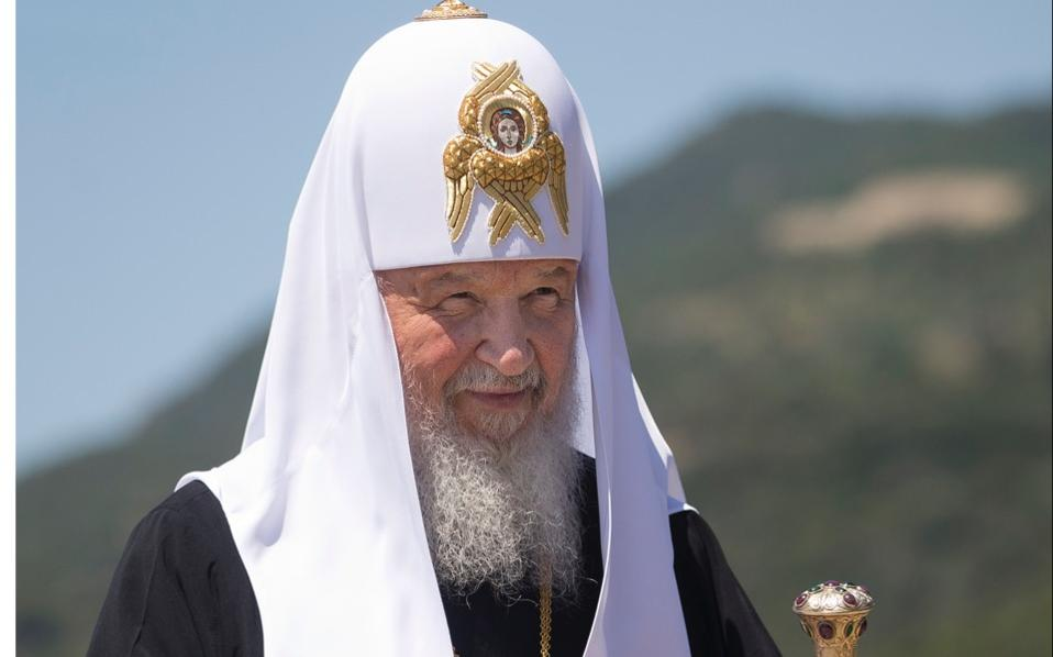 Russian Orthodox Church Patriarch Kirill.