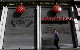 Ilektroniki Athinon was one of the thousands of companies that shut down in the first half of the year.