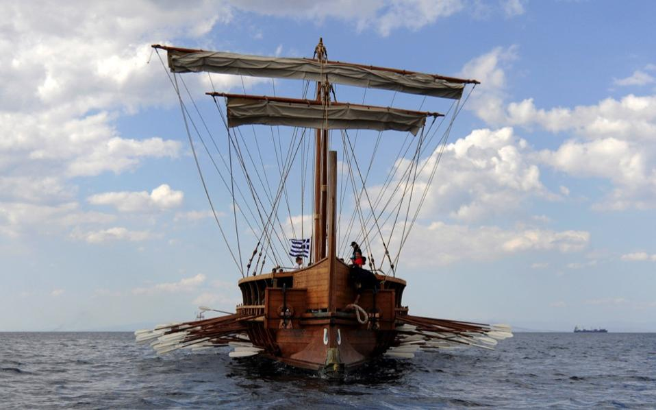 athenian trireme Greek and persian trireme simulator, from maneuvering a single trireme through to the battle of salamis (480bc) the simulation accurately recreates the performance.