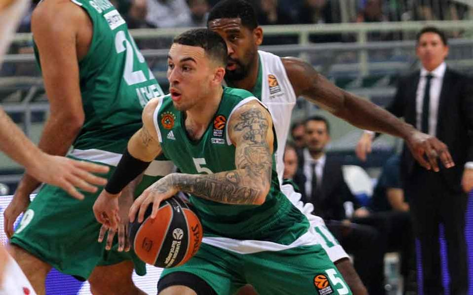 Mike James scored his first seven Euroleague points with Panathinaikos.
