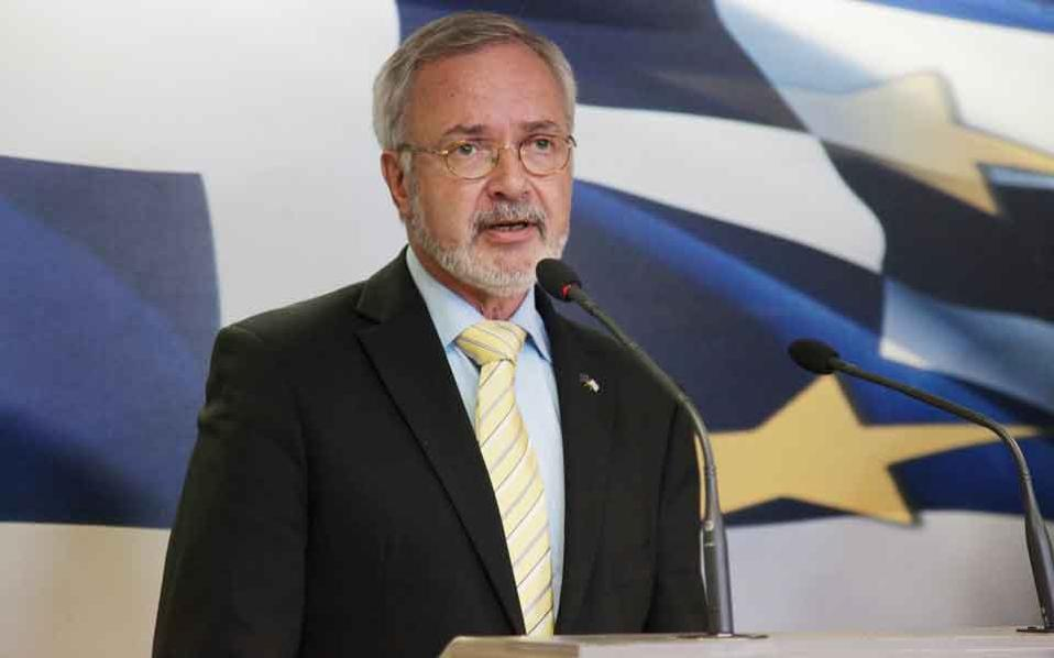 EIB chief Werner Hoyer is coming to Athens on Thursday.