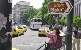 Some Greek and foreign investors have acquired a number of properties in popular tourism spots such as Plaka in Athens.
