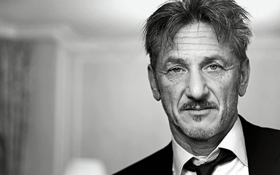 American actor, filmmaker, and political activist Sean Penn.