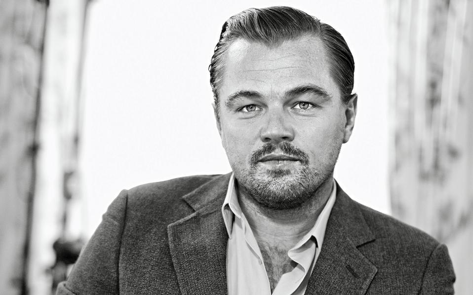 American actor and film producer Leonardo DiCaprio.