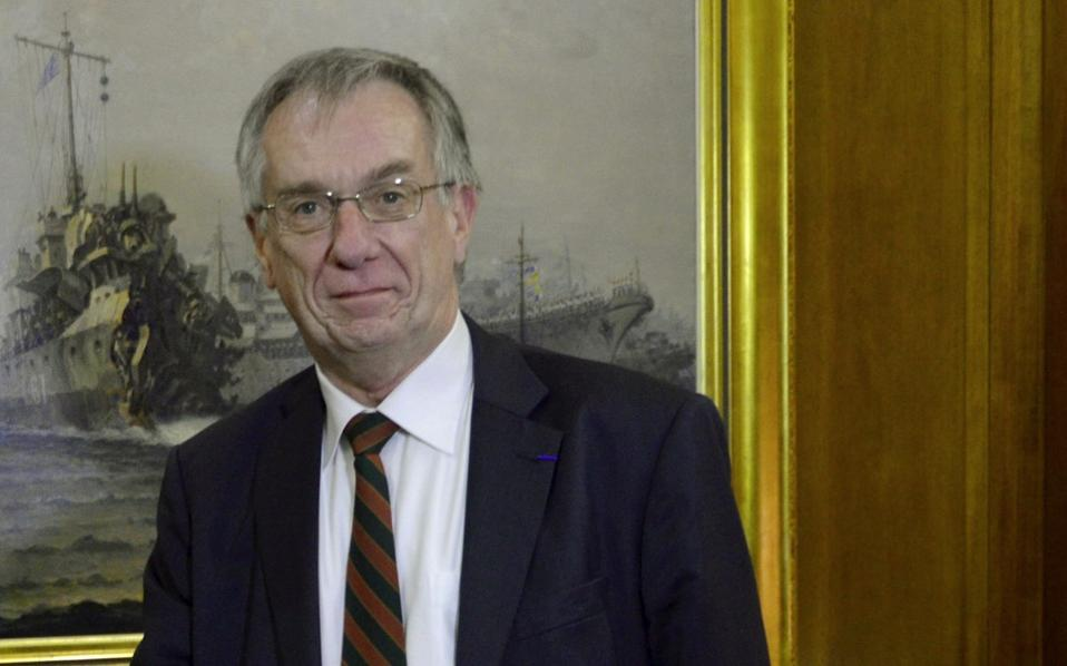 Australian ambassador in Athens John Griffin