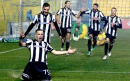 Stelios Kitsiou opened the score for PAOK at Panetolikos.