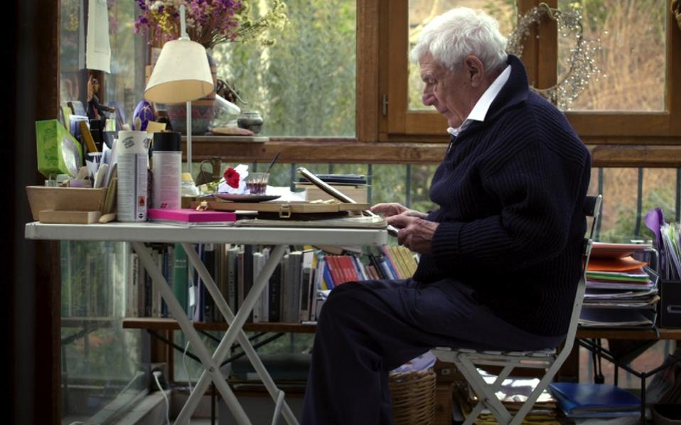 A still from Cordelia Dvorak's documentary 'John Berger: The Art of Looking.'