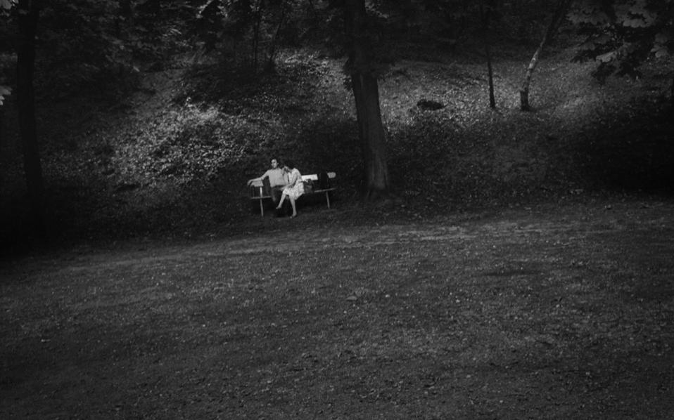 Parc des Buttes-Chaumont, Paris, 1985.