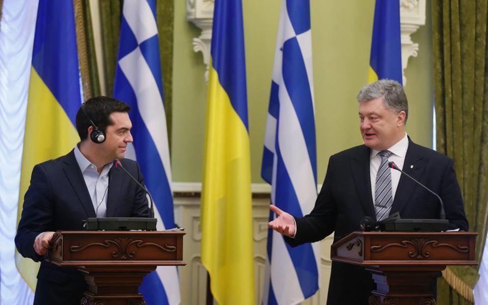 Βόμβα στις ελληνοτουρκικές σχέσεις η επίσκεψη Τσίπρα στην Ουκρανία