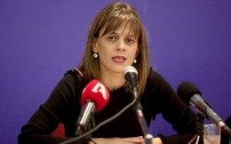 Labor and Social Security Minister Efi Achtsioglou