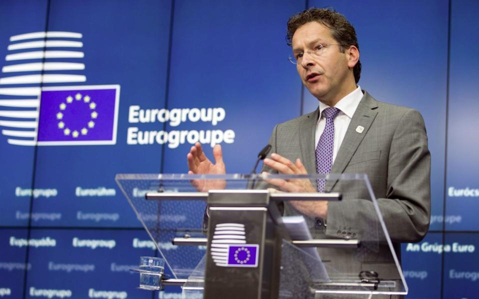 Eurogroup chief Jeroen Dijsselbloem
