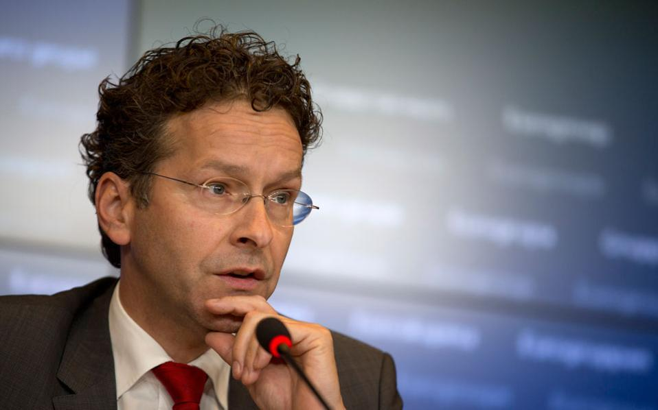 Eurogroup President Jeroen Dijssebloem said some progress has been made in Greek bailout talks but that issues remain unresolved