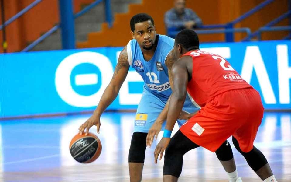 Alabama graduate Trevor Releford scored 21 points for Kolossos at Lefkada.
