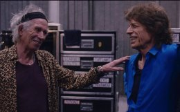 A scene from 'The Rolling Stones Ole Ole Ole! A Trip Across Latin America.'