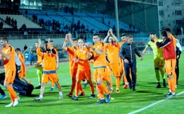 Iraklis celebrated at PAS Giannina its third consecutive victory that has lifted it out of the relegation zone.