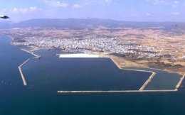 The port of Alexandroupoli in Thrace.