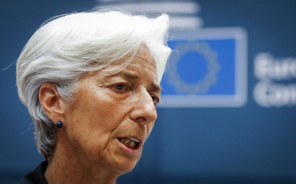 International Monetary Fund chief urges eurozone to back Greece debt relief