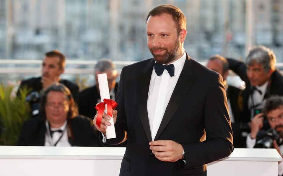 Greek director Yorgos Lanthimos.