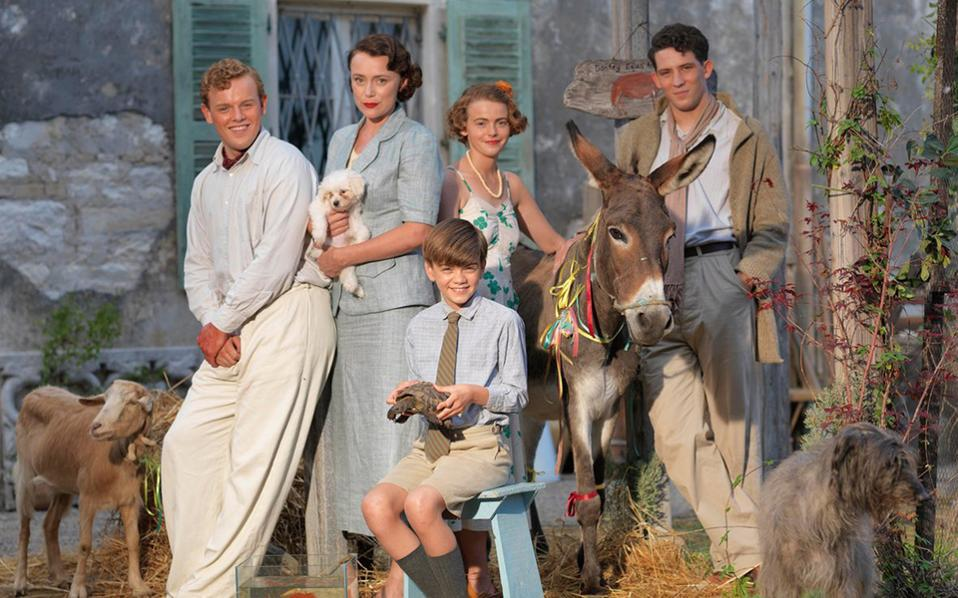The series looks back to 1935, when the Durrell family upped sticks and left the UK.