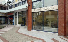 Alpha Bank's stock price at the closing on Tuesday was 2.18 euros, against 2 euros upon recapitalization.