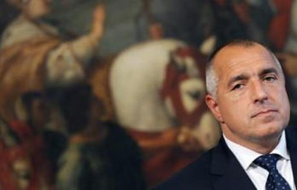Bulgarian Prime Minister Boyko Borrisov