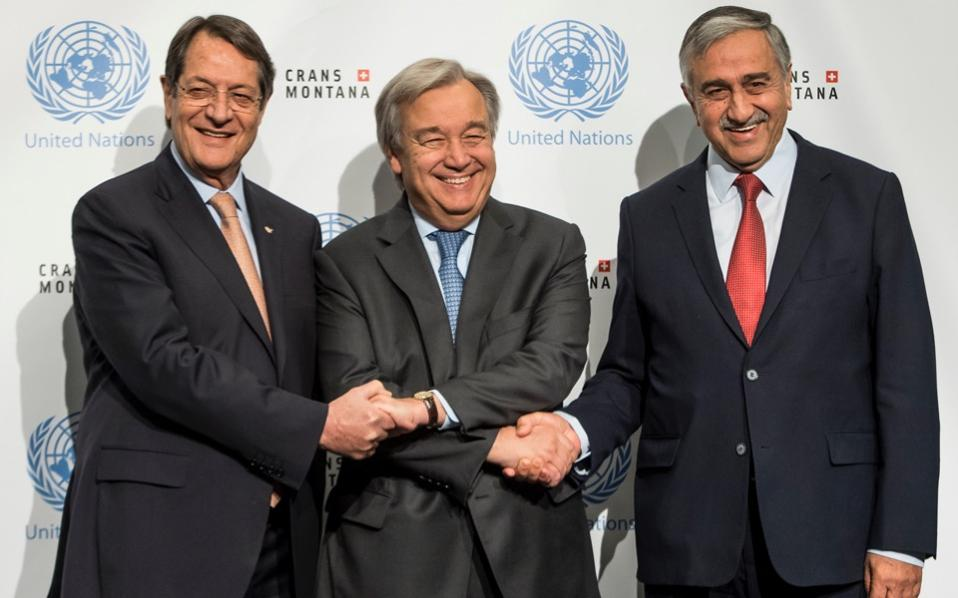 UN Chief Joins Cyprus Peace Talks