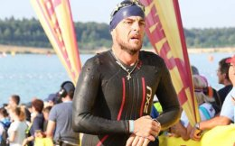 Panagiotis Dimpampis completed the Ironman Triathlon in 12 hours and 32 minutes.
