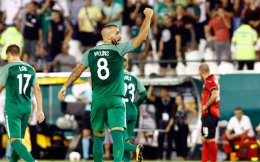 Swedish striker Guillermo Molins scored Panathinaikos's only goal.