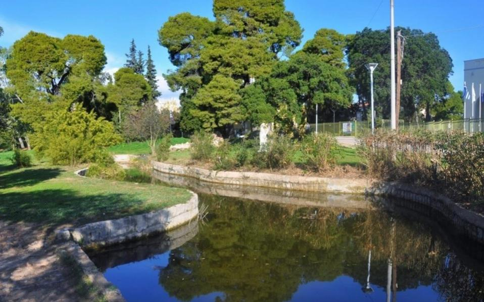 Syngrou Park in Maroussi