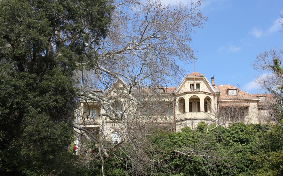 The former royal estate in Tatoi