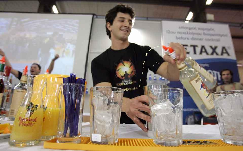 Young Greeks juggle part-time jobs.