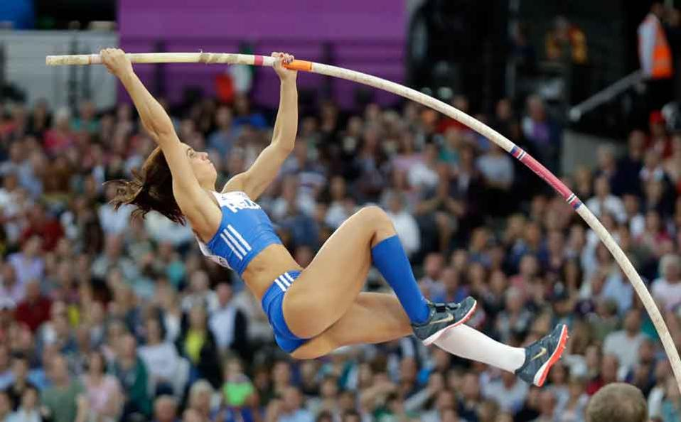 Greece's Stefanidi wins women's pole vault title at athletics worlds