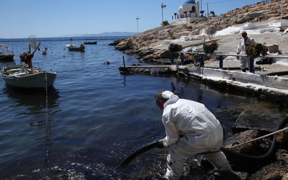 Oil spill off China coast now the size of Paris
