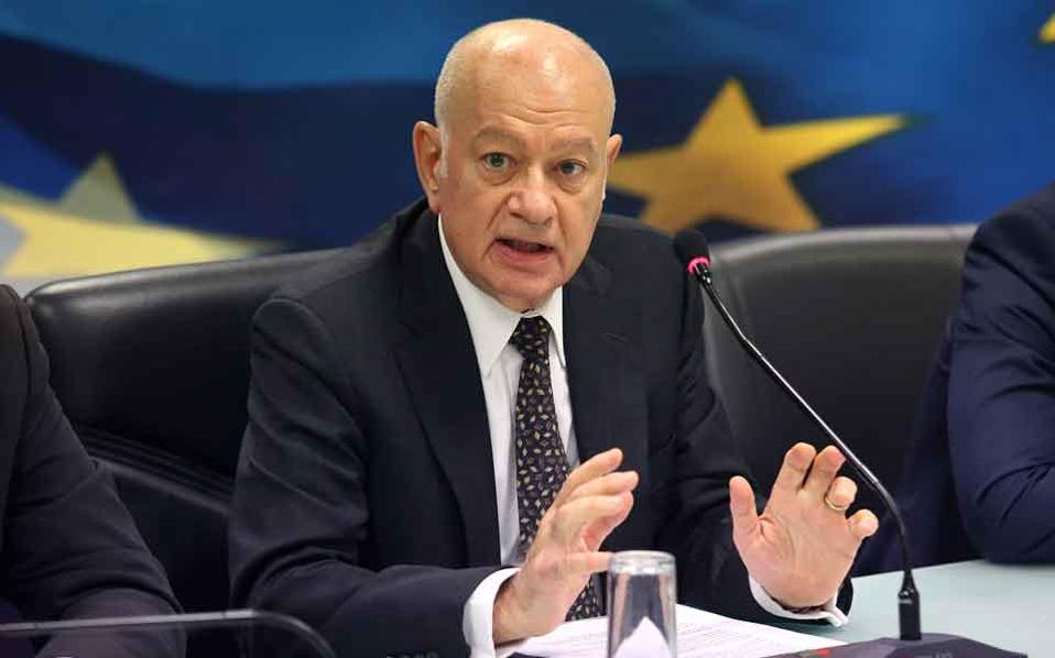 Economy and Development Minister Dimitri Papadimitriou