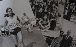 In 1974, 23-year-old Zozo Christodoulou became the first Greek woman to run the distance –42,195 meters – from Marathon to the Panathenaic Stadium.
