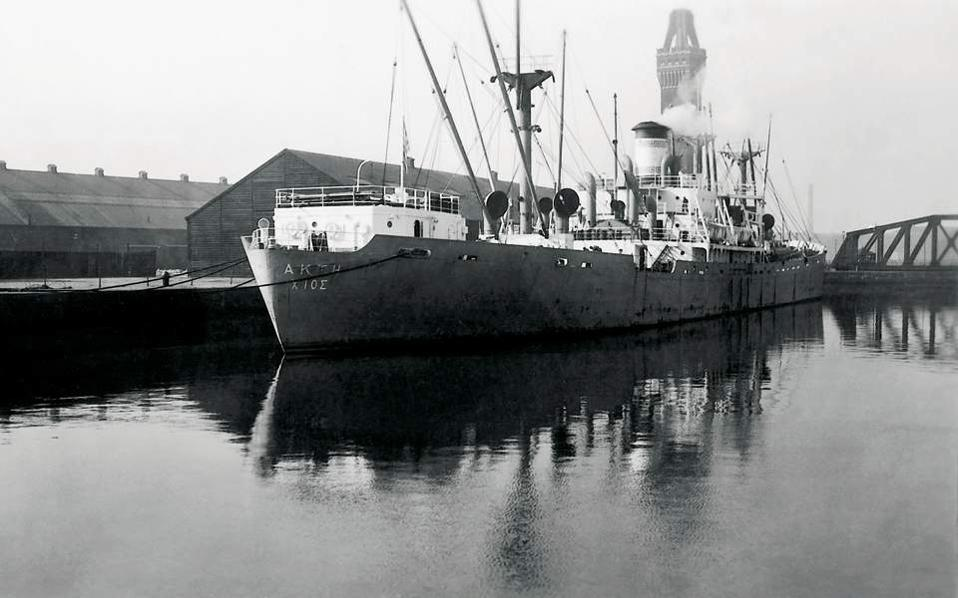 The Akti, owned by Nicholas Livanos, was one of the 98 Liberty ships which sailed under the Greek flag. Another 72 carried the flags of Honduras, Panama and the United States.