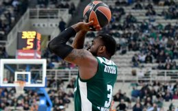 KC Rivers made six out of nine three-pointers for Panathinaikos.