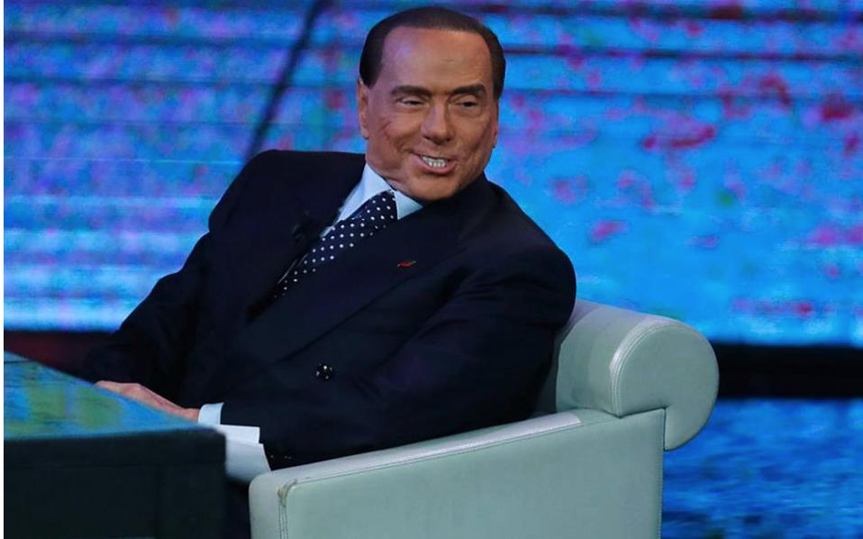 Former Italian prime minister Silvio Berlusconi seen in a file photo.