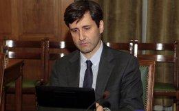 Alternate Finance Minister Giorgos Houliarakis.