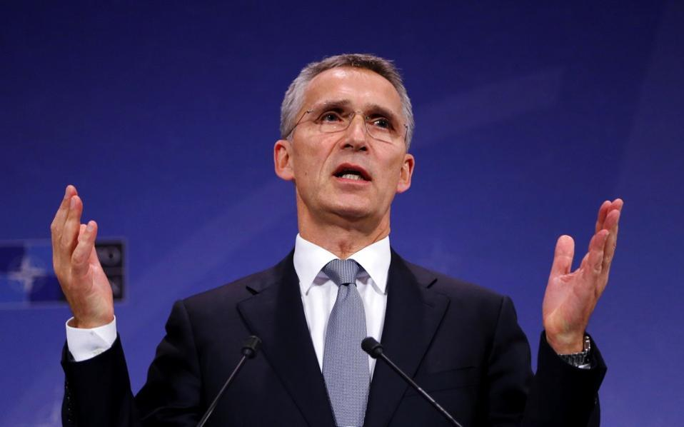 Stoltenberg: Name dispute must be resolved before joining North Atlantic Treaty Organisation
