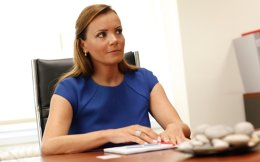 Credicom chief executive officer Anastasia Sakellariou