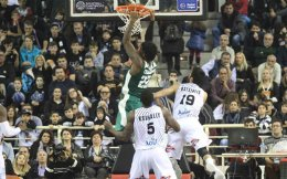 Kenny Gabriel was the top scorer for Panathinaikos with 14 points.