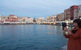 The regions of Crete and the southern Aegean attract almost half of Greece's incoming tourism.