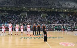The Euroleague has opened an investigation against Panathinaikos because its players turned their back in protest at the presentation of the teams.